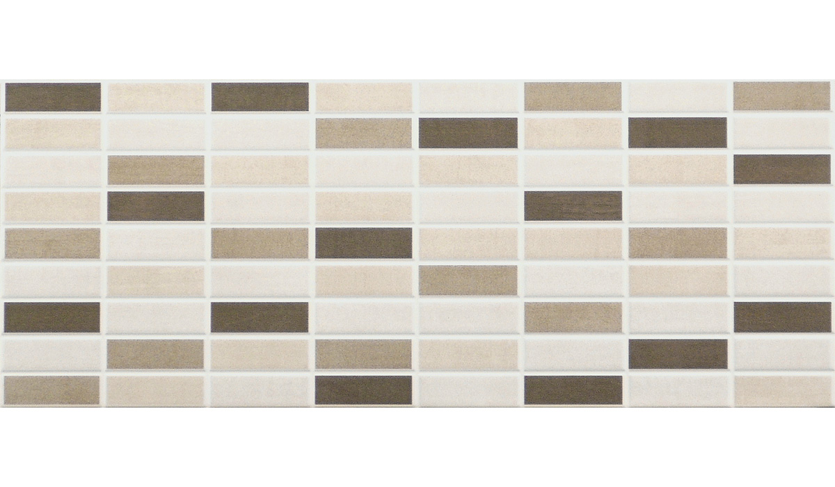 City-Mosaico Mix Beige-20x50