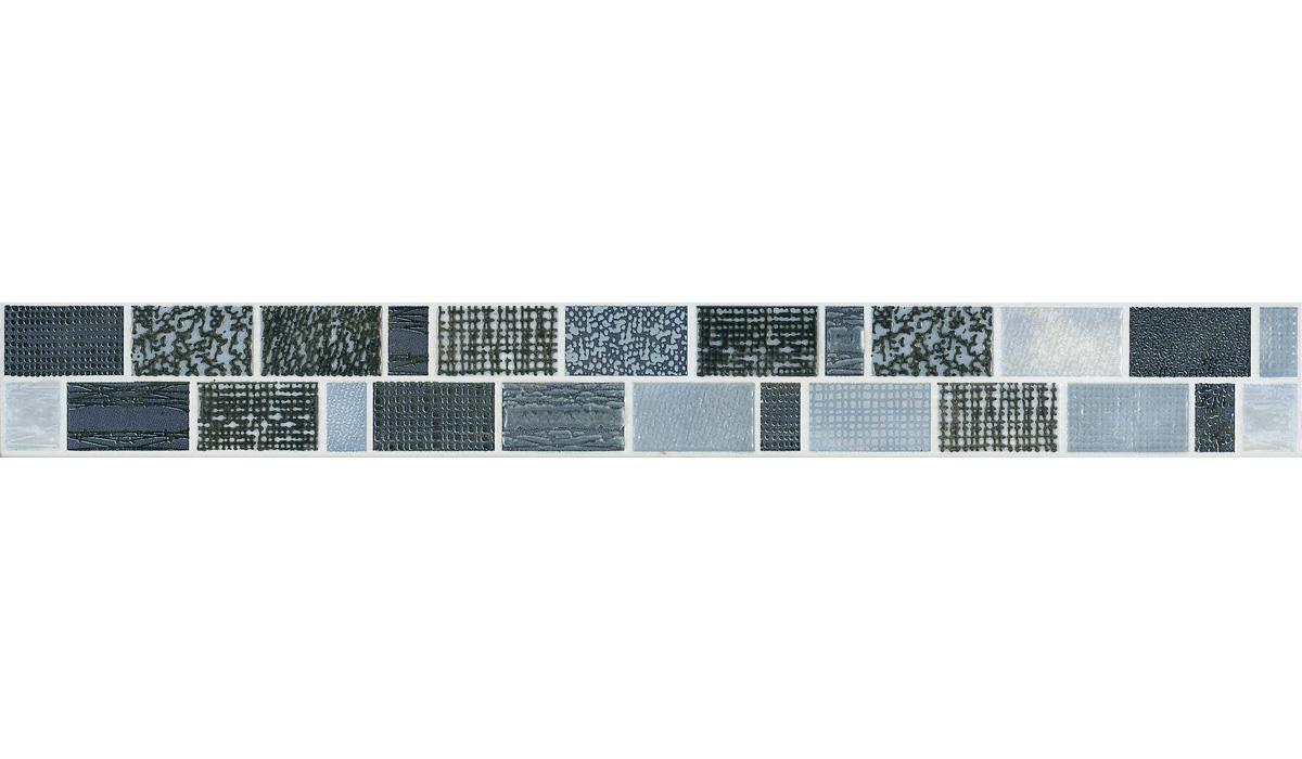 Deserti-Listello Gobi Azzurro/Grigio-5x40
