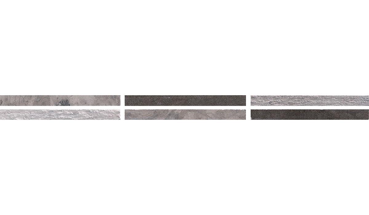 Egeo treccia grigio 2x30
