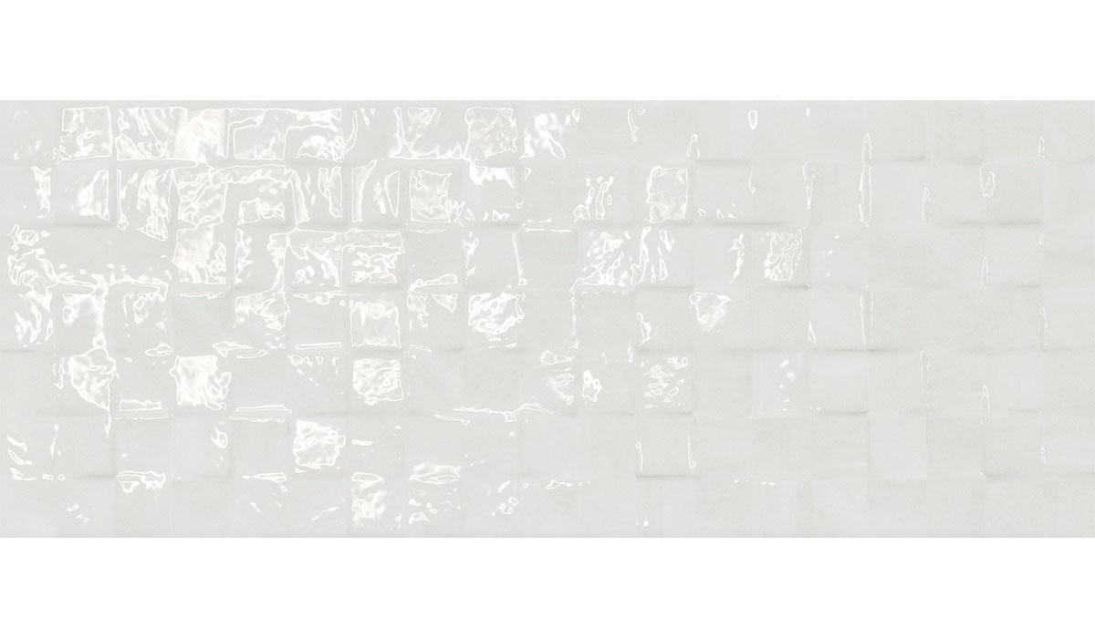 Perlage mosaico bianco 20x50