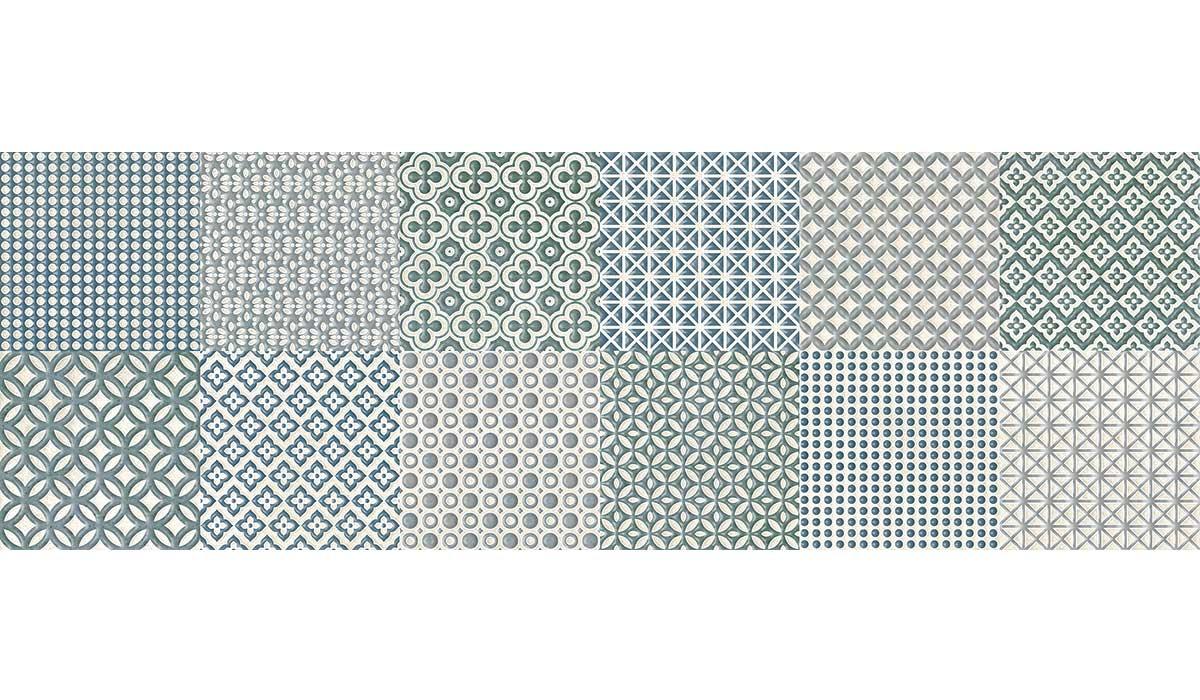 Reflex maiolica acqua 25x75
