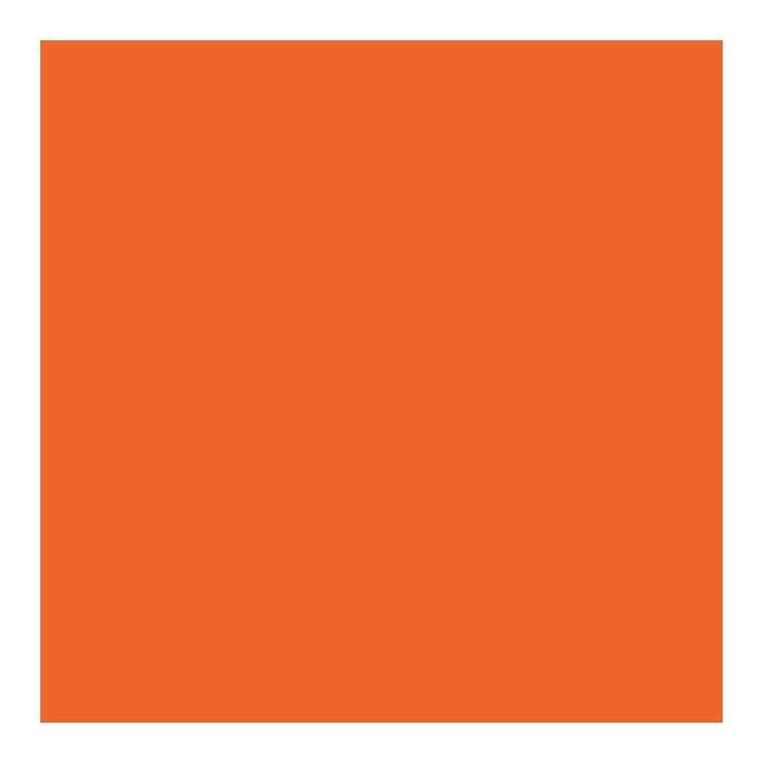 Unicolor arancione 20x20